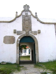 La entrada a la fortaleza