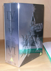 Stars Wars Trilogy DVD Boxset
