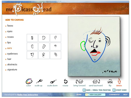 Mr. Picasso Head