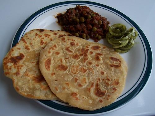Plain Parathas