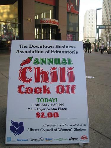 20th Annual Chili Cook Off