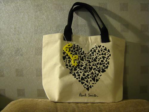 (20100424買物) 又是為了贈品買日雜 : Spring雜誌送的Paul Smith小包包 - Emma's華滋華斯庭園