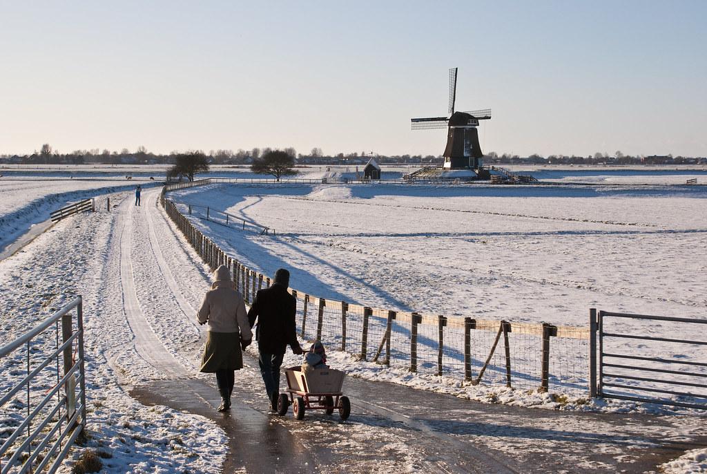 De Breek | winter sun | 1