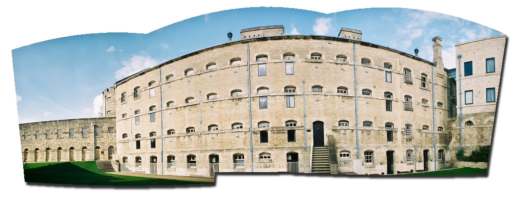 Oxford prison panorama