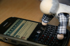 Twitter on the BlackBerry