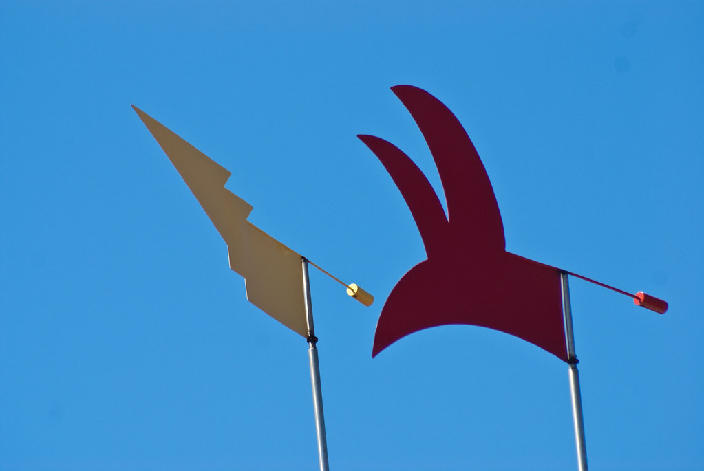 Catalan wind vanes