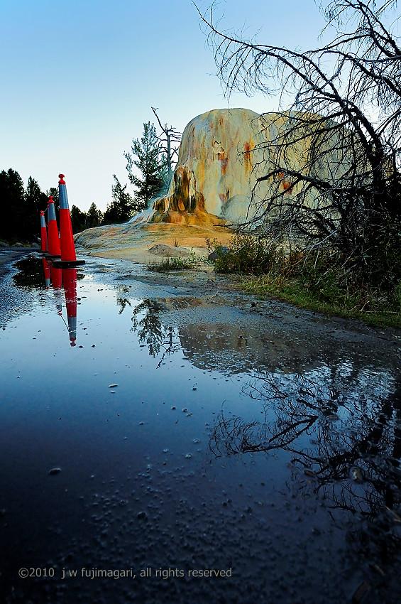Orange Mound Eats The Road