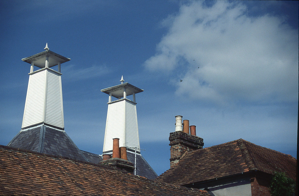 Henley Malthouse chimneys