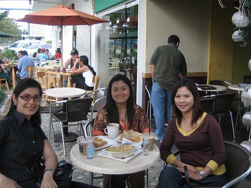 Moi, Jiji and Chat at Bo's