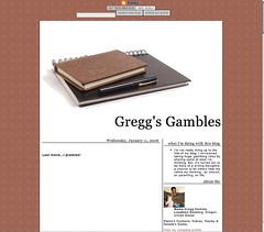 Gregg's Gambles, March 2005