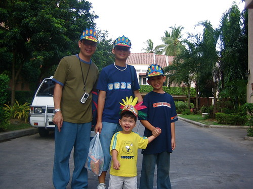 My ninos during the feast of the Sto. Nino