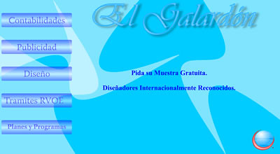 Screenshot de galardon.com.mx