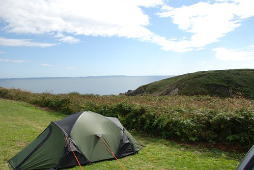 View from Campsite