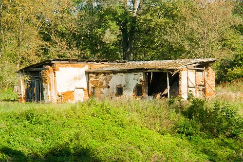 Ūkinio pastato likučiai