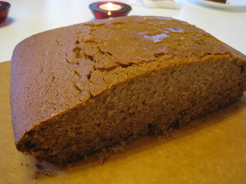 Honey Cake with Rye Whiskey