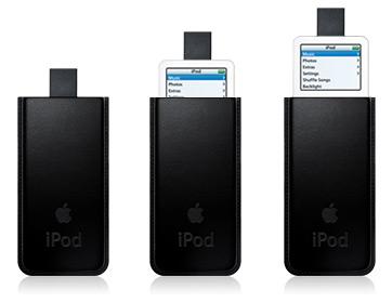 皮革製的 iPod 保�套(20060228發表)