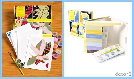 DIY: Design By Number Note Cards