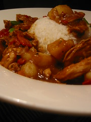 Cajun Chicken Curry