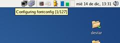 jhbuild in notification area configuring
