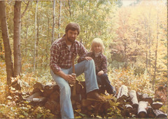 Gordy and Jen in woods copy