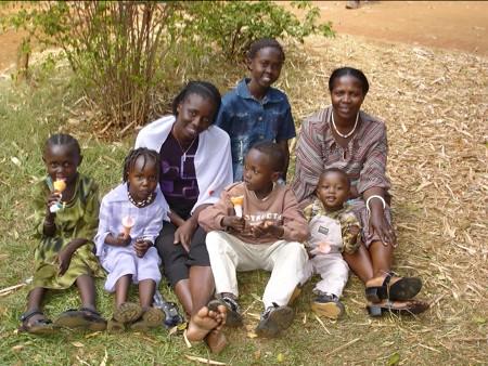 mary & family