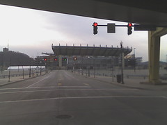 Photo of Heinz Field on a quiet Sunday