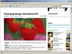 Strawberries on PingMag