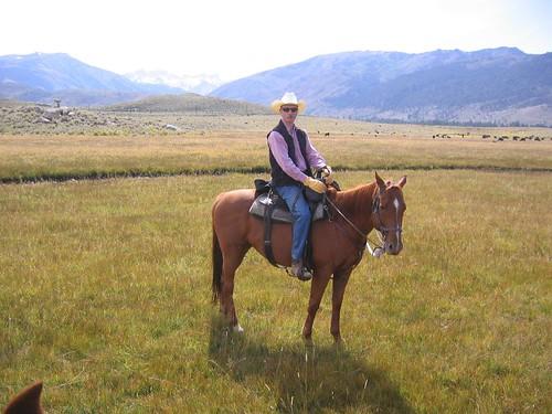 at the ranch
