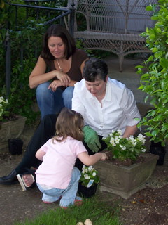 Mothers Day planting