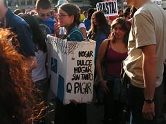 Manifestación de Madrid por una vivienda digna