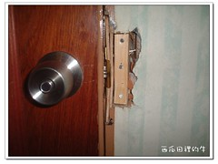 修好的門鎖