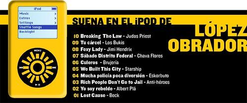 iPod del Peja