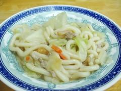 stir fried oolong noodles