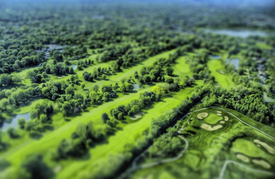 Model Golf Course