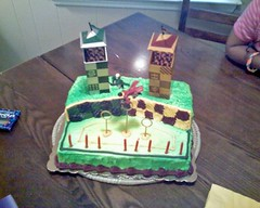 Victoria's Harry Potter birthday cake