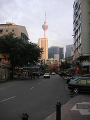 Towering street