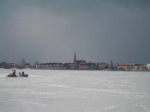 Vista de Luleå City
