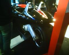 Culo Moto coche peugeot