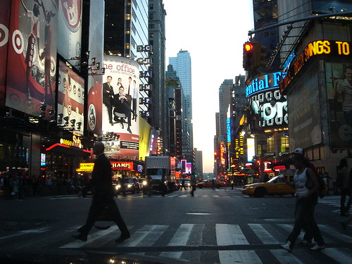Times Square by Kevin