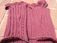 annie modesitt ribbed corset WIP