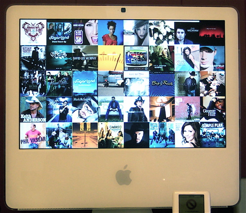 iTunes Screensaver