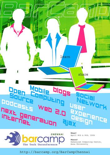 BarCamp Chennai Poster