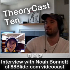 theorycast 10 :: Interview with Noah Bonnett of 88slide