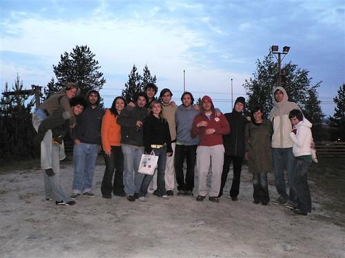 El grupo en Ormberget