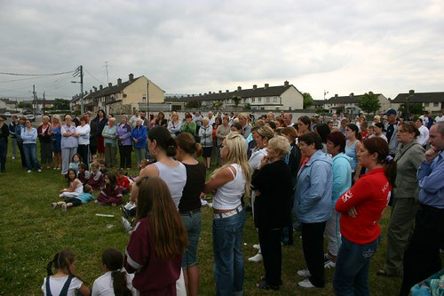 People at Finglas meeting. Copyright Stephen Browne