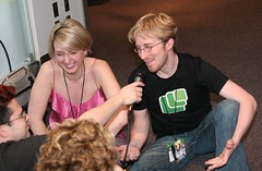 Tara and I get interviewed by Chris and Ponzi