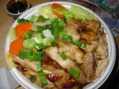 chicken veggie bowl