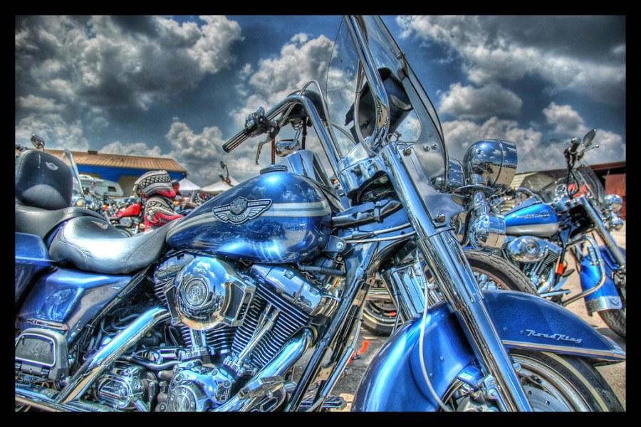 Blue on Fire