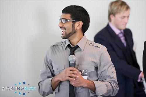 Santosh at StartingBloc Institute