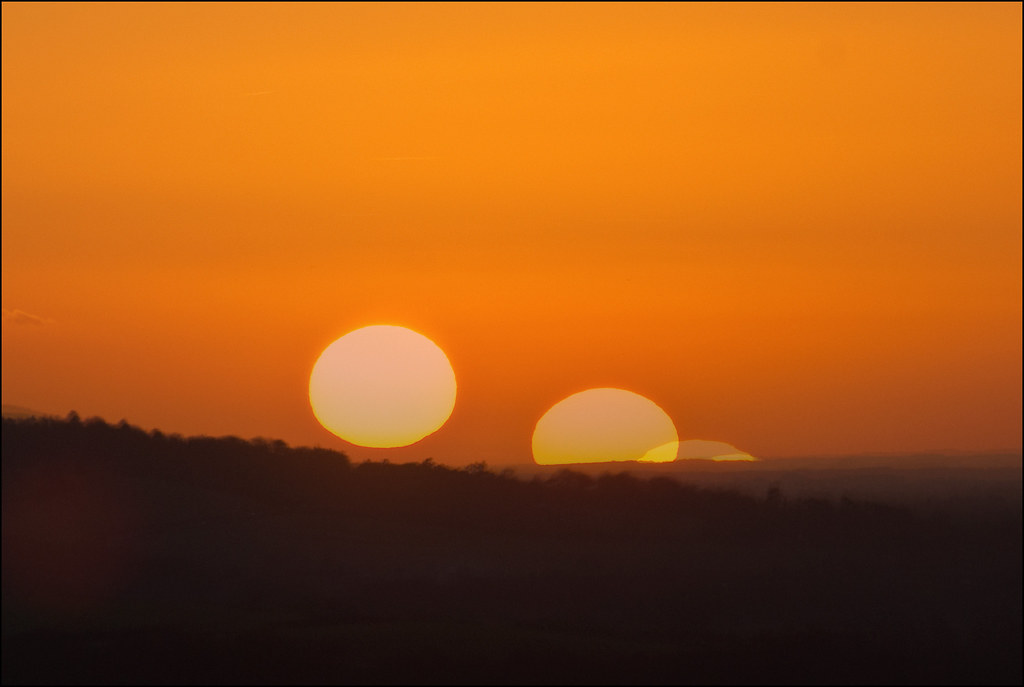 Sunset montage | Ivinghoe Beacon